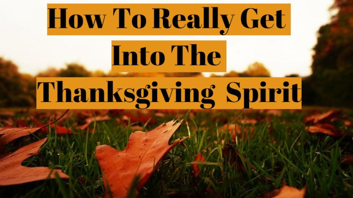 How to Really Get Into the Thanksgiving Spirit