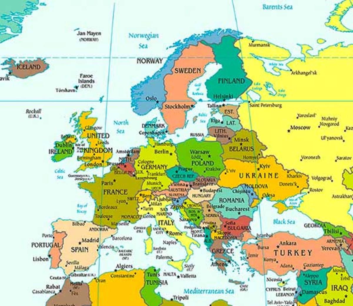 Changes In Europe Across The Twentieth Century Owlcation