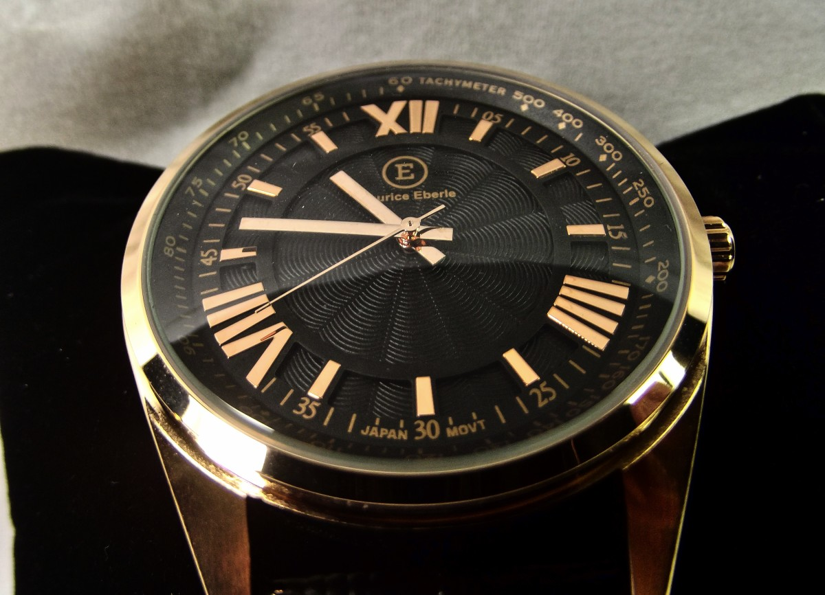 Review of the Maurice Eberle Gambrel Quartz Watch