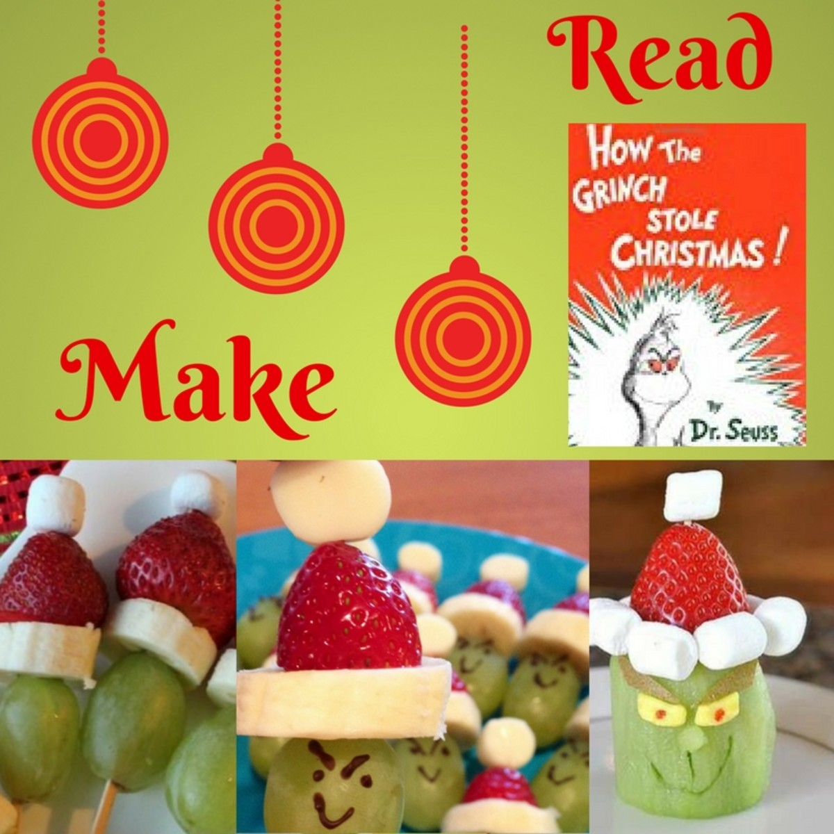 Christmas Activities for Families:  Read and Make
