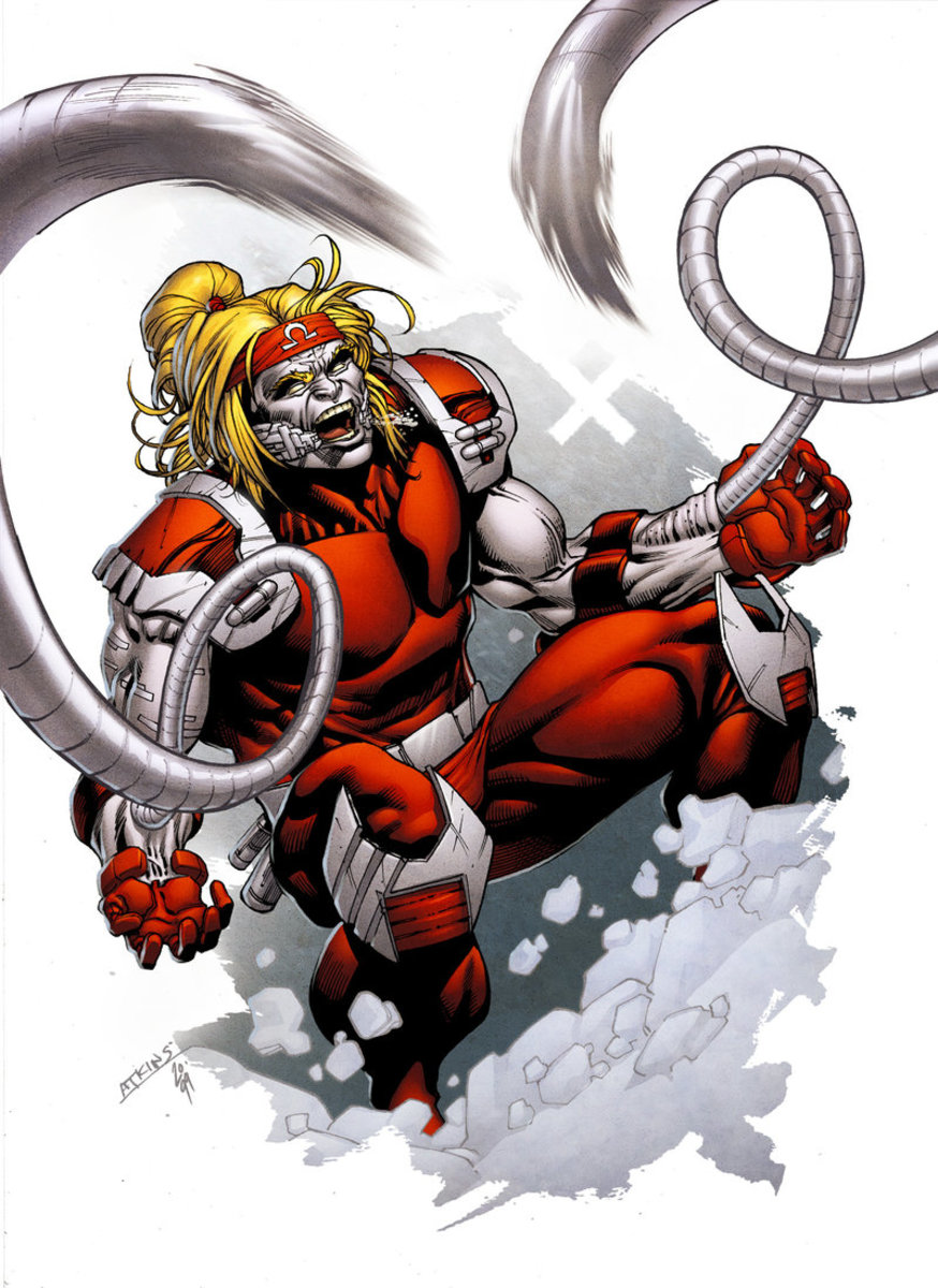 Omega Red - Just a freaking nightmare