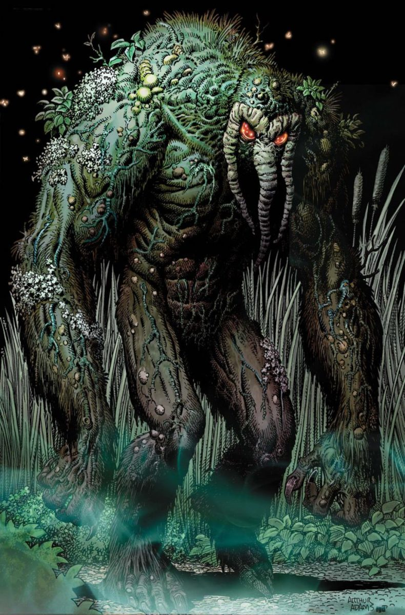 Ted Sallis, who took the super-soldier formula as a last resort, had a violent unexpected transformation into the Man-Thing.