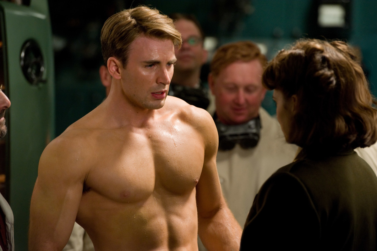 From wimp to hero in one minute. The story of Steve Rogers