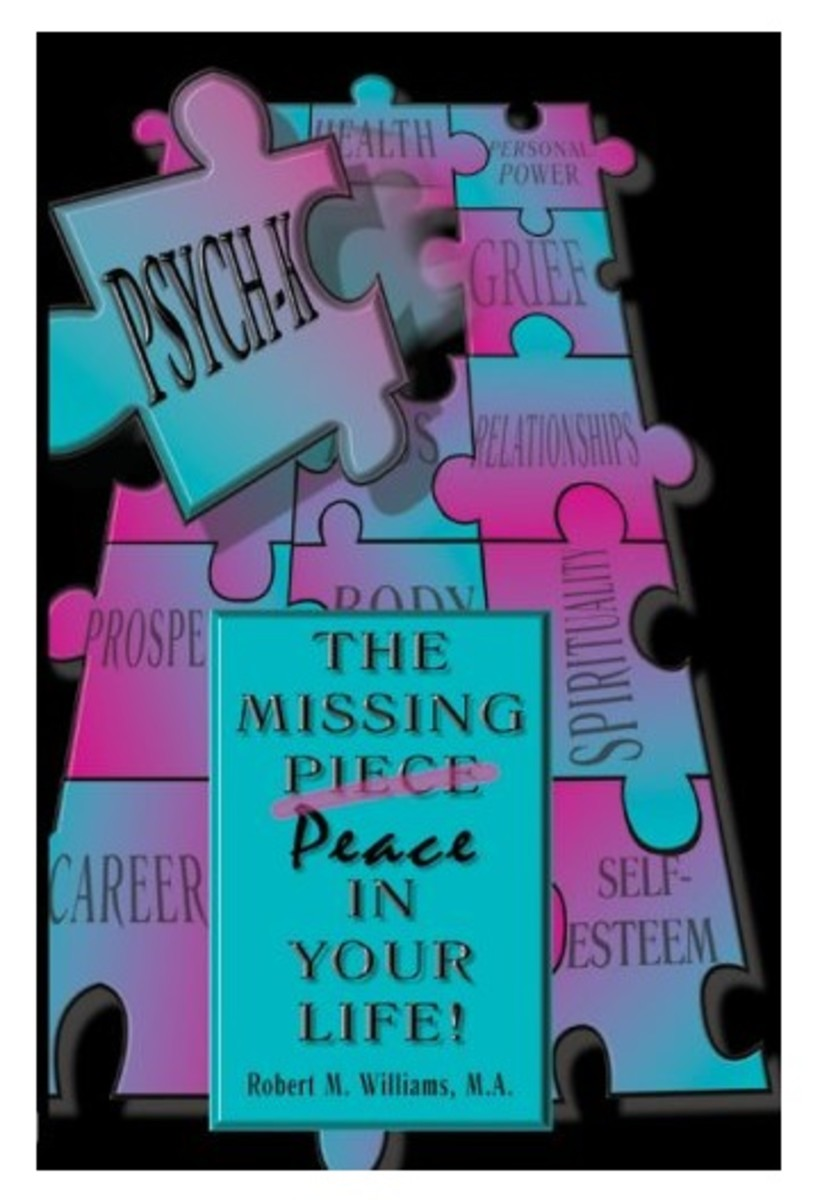 """PSYCH-K: The Missing Peace in Your Life"" Book Cover 