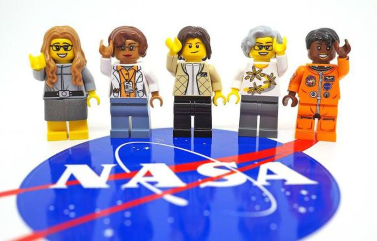 Women of NASA LEGOs Inspirational Toy Set