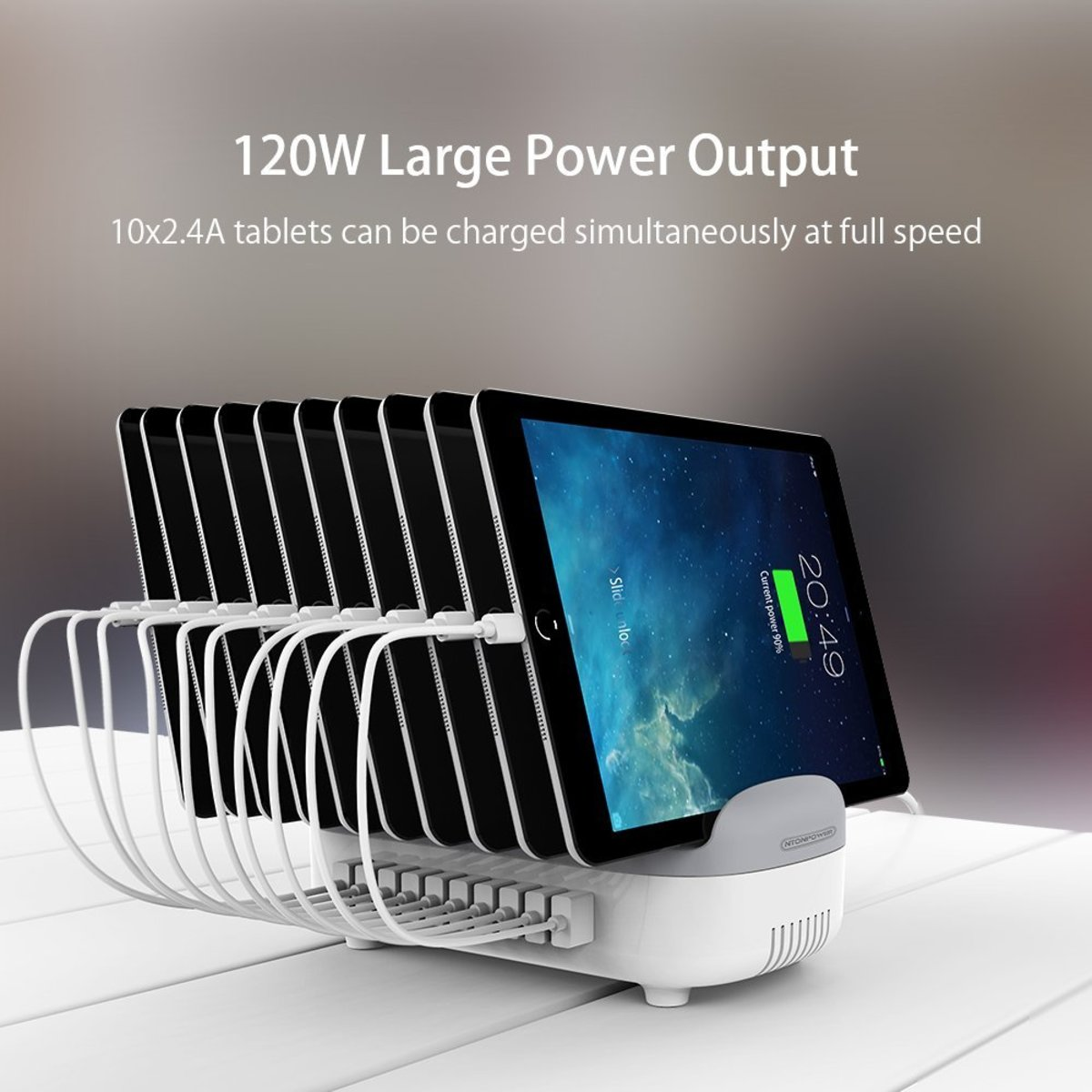 NTONPOWER 10-Port Multiple Charging Station Review