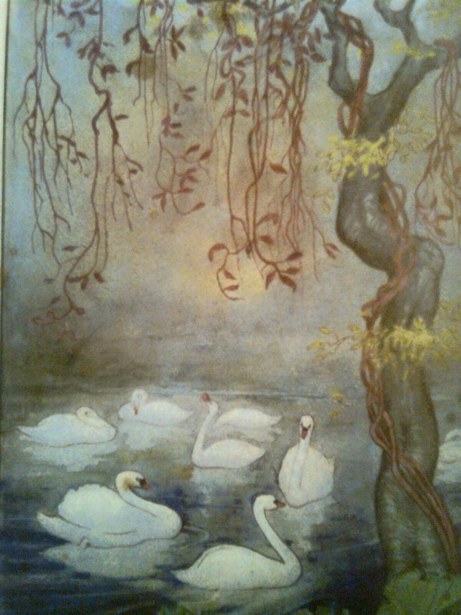 The Swan Maiden of Adrichem