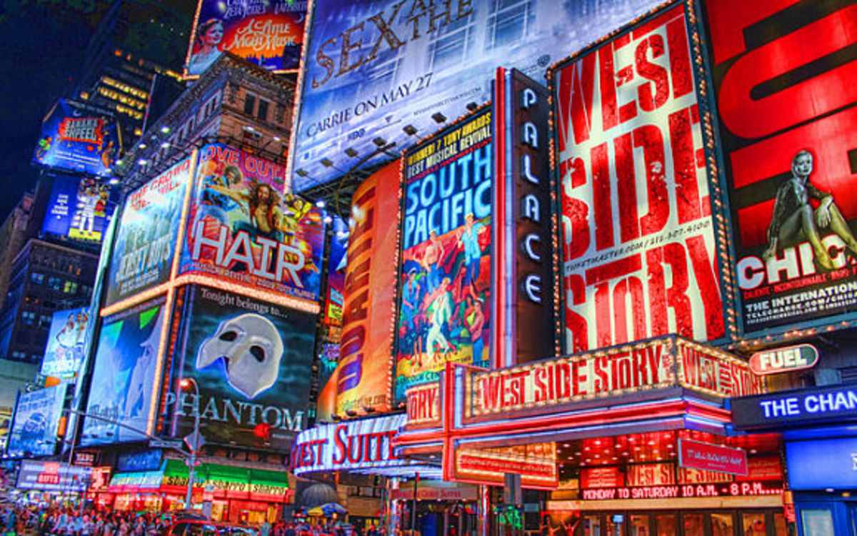 Seeing a show on Broadway is a classic NYC must.