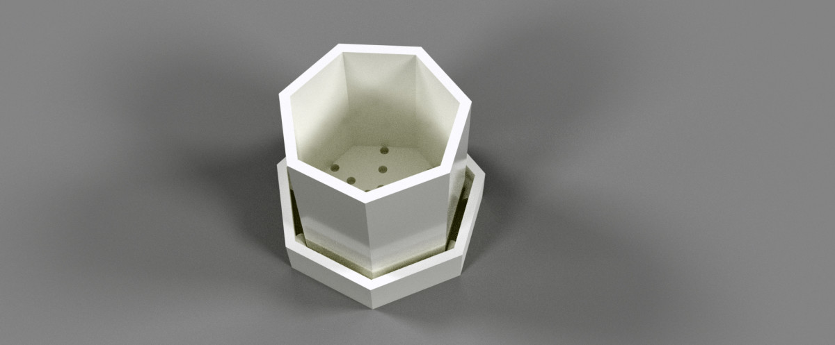 How to Design a Simple Planter (Autodesk Fusion 360 Tutorial)