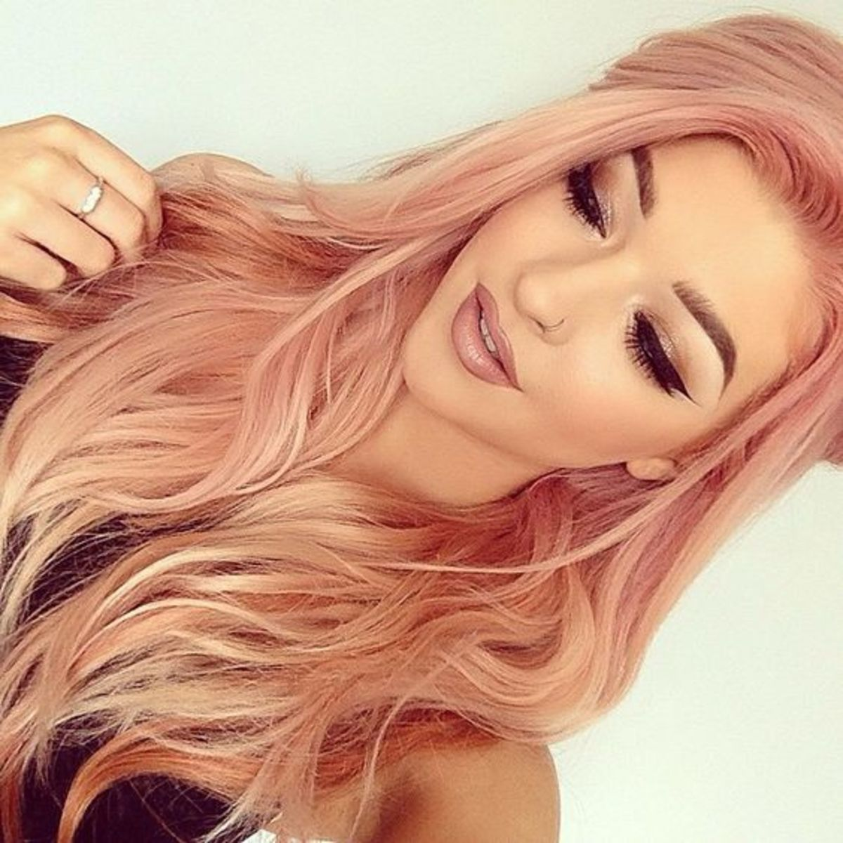Diy Hair How To Get Rose Gold Hair Bellatory