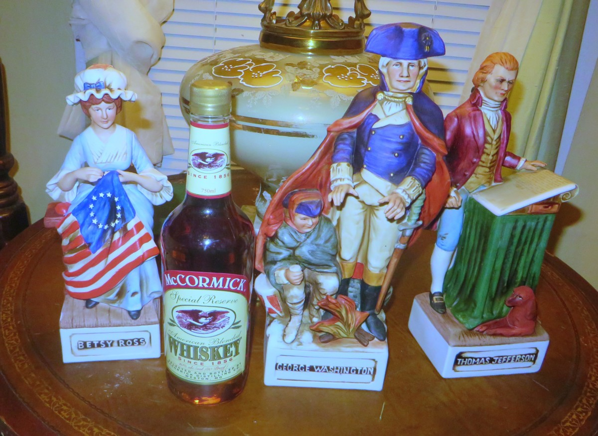 McCormick Distilling Company is still making American Blended Whiskey, they have been since 1856. Fitting that they went all out during the Bicentennial year of 1976 to show their patriotic support.