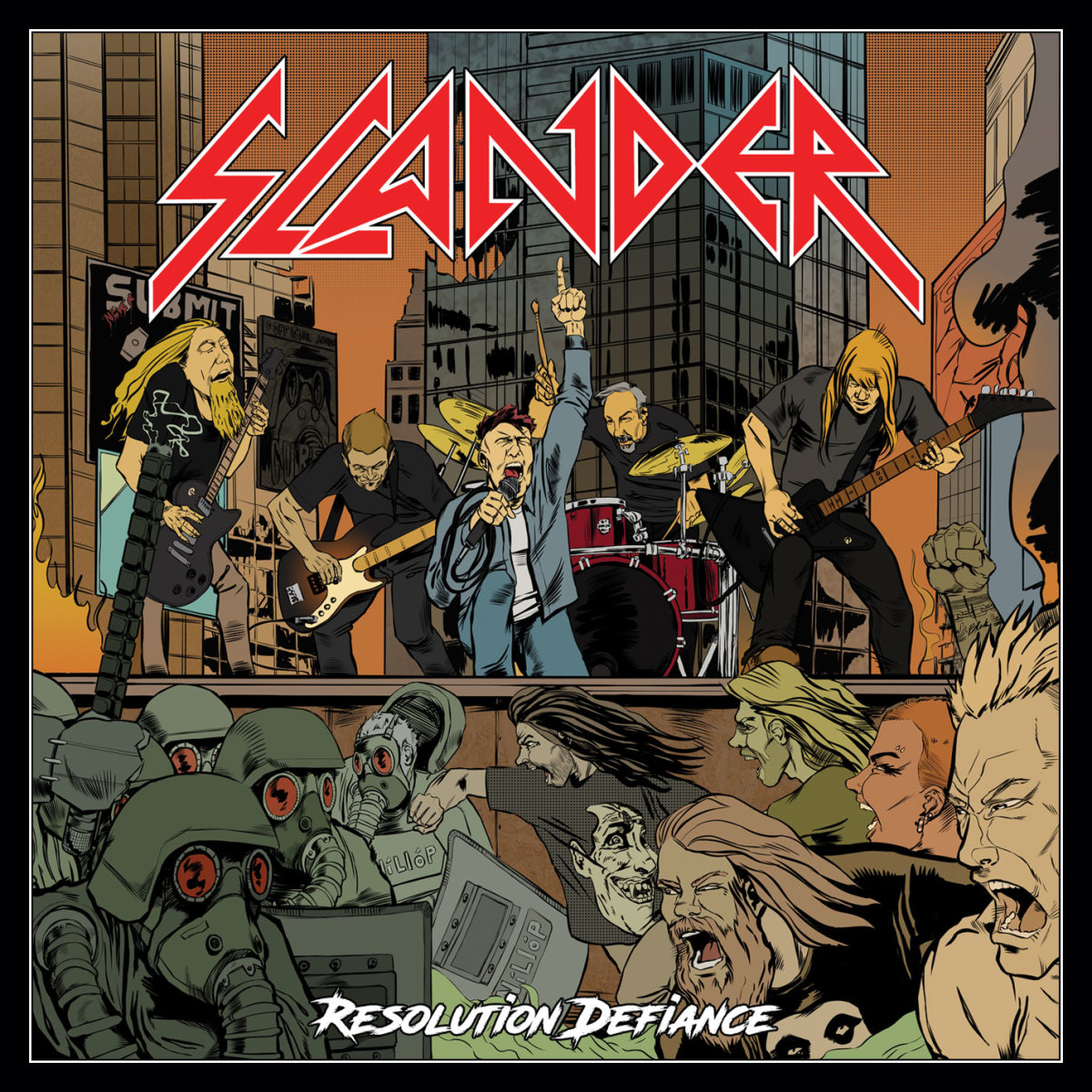 "Slander, ""Resolution Defiance"" (2017) Album Review"