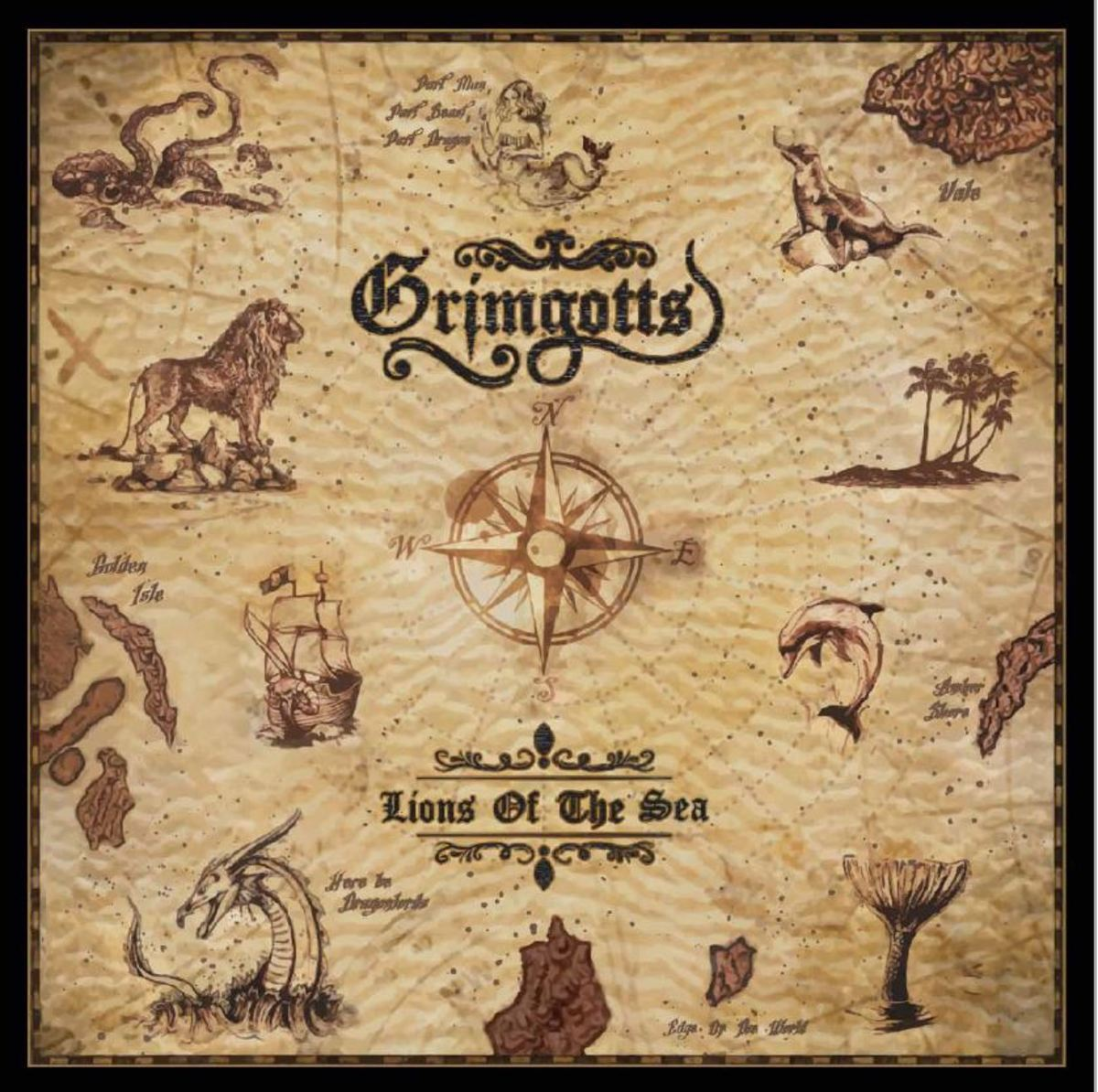 "Grimgotts, ""Lions of the Sea"" (2017) Album Review"