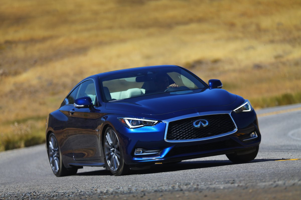 You can get an Infiniti Q60 under $40,000, but just the bottom trim