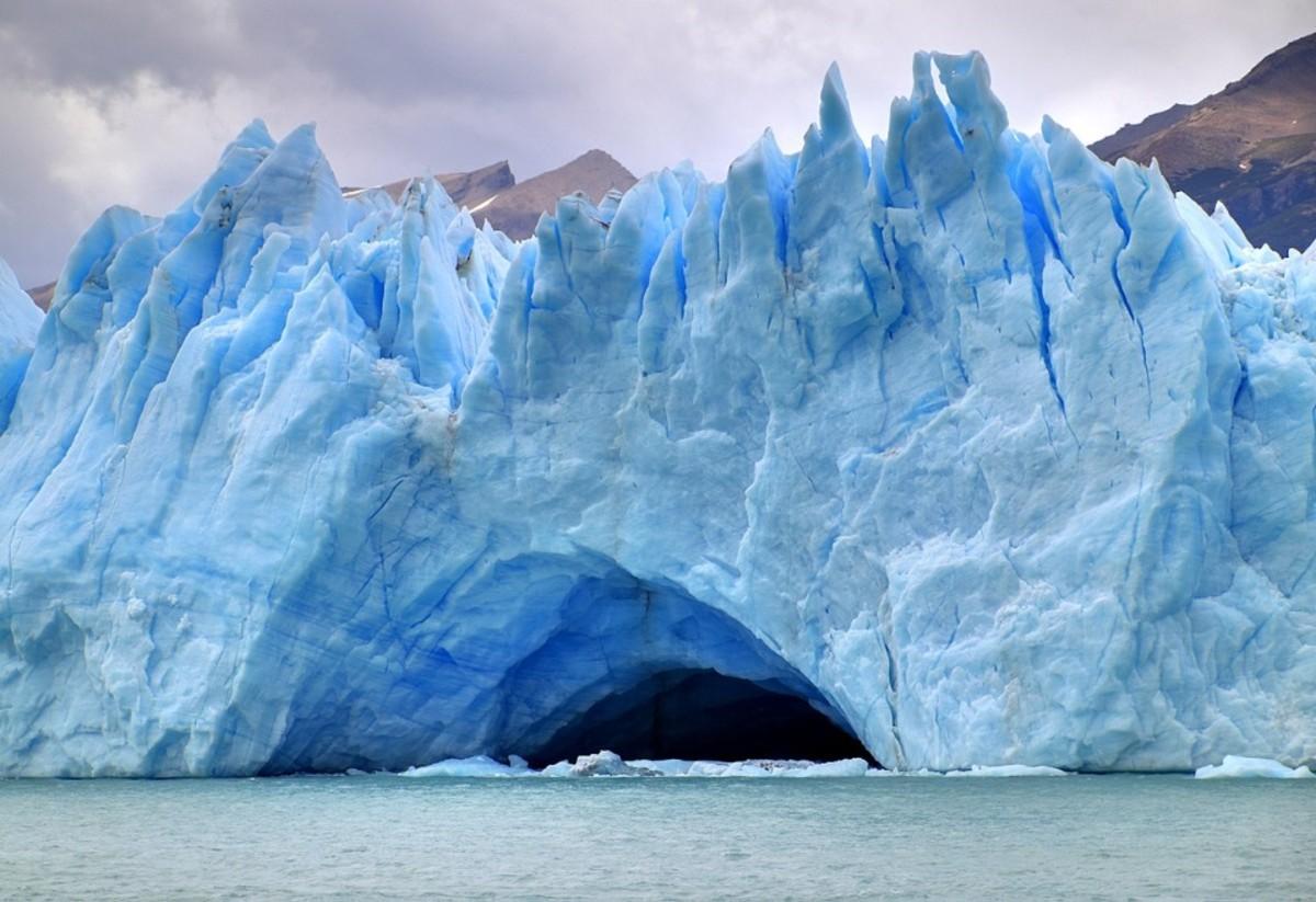 Glacier Perito Moreno in Argentina