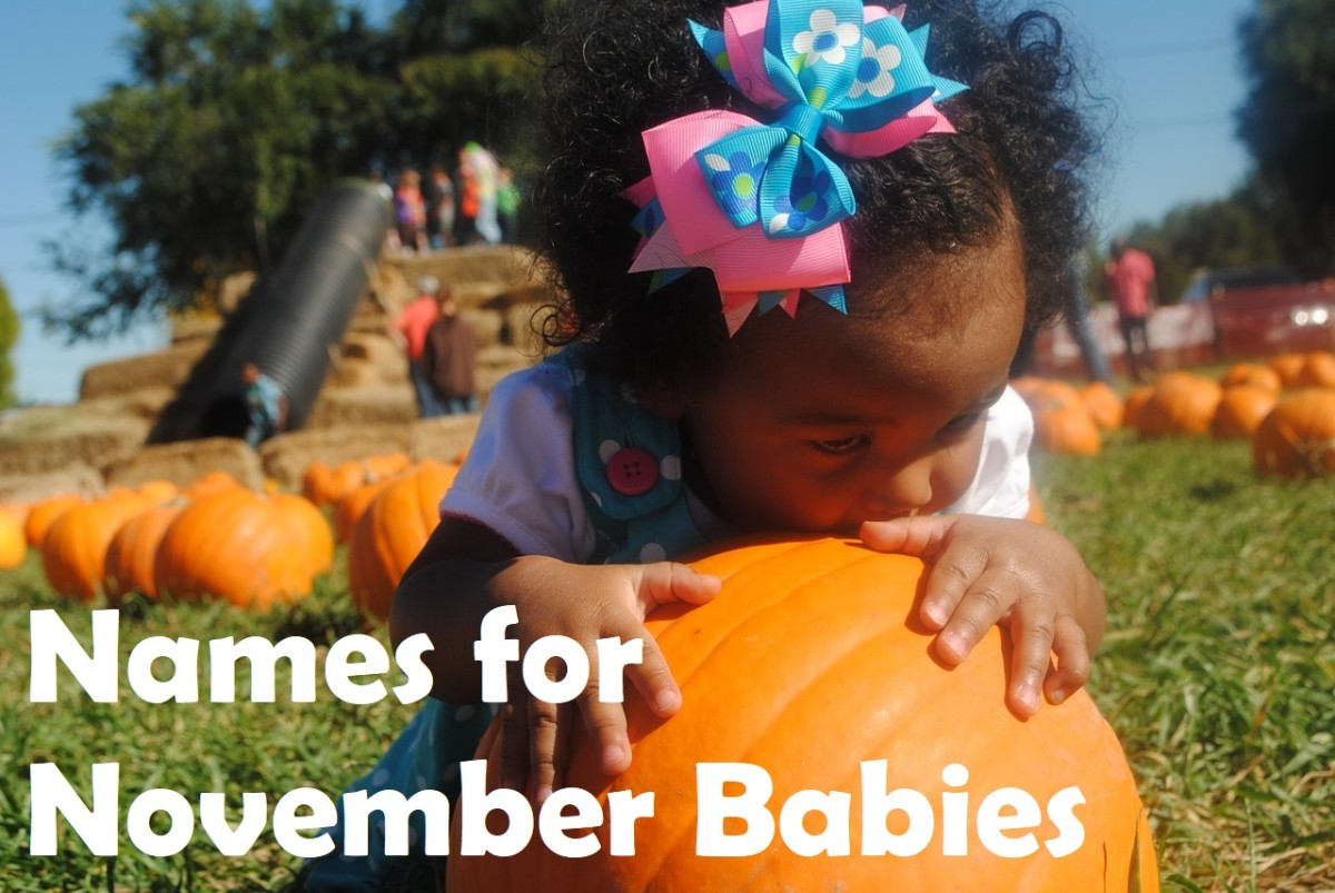 November Baby Name Ideas for Boys and Girls