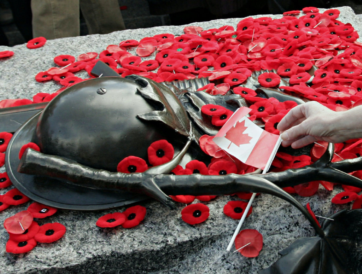 Remembrance Day:  Even With Fewer Veterans, Kids Get The Message