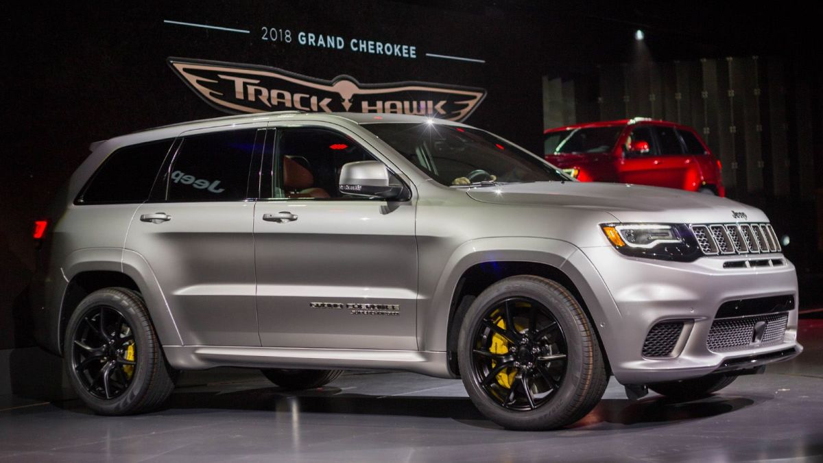 Inertia Report Why The Jeep Grand Cherokee Srt Trackhawk Is Wrong Long Term Solution
