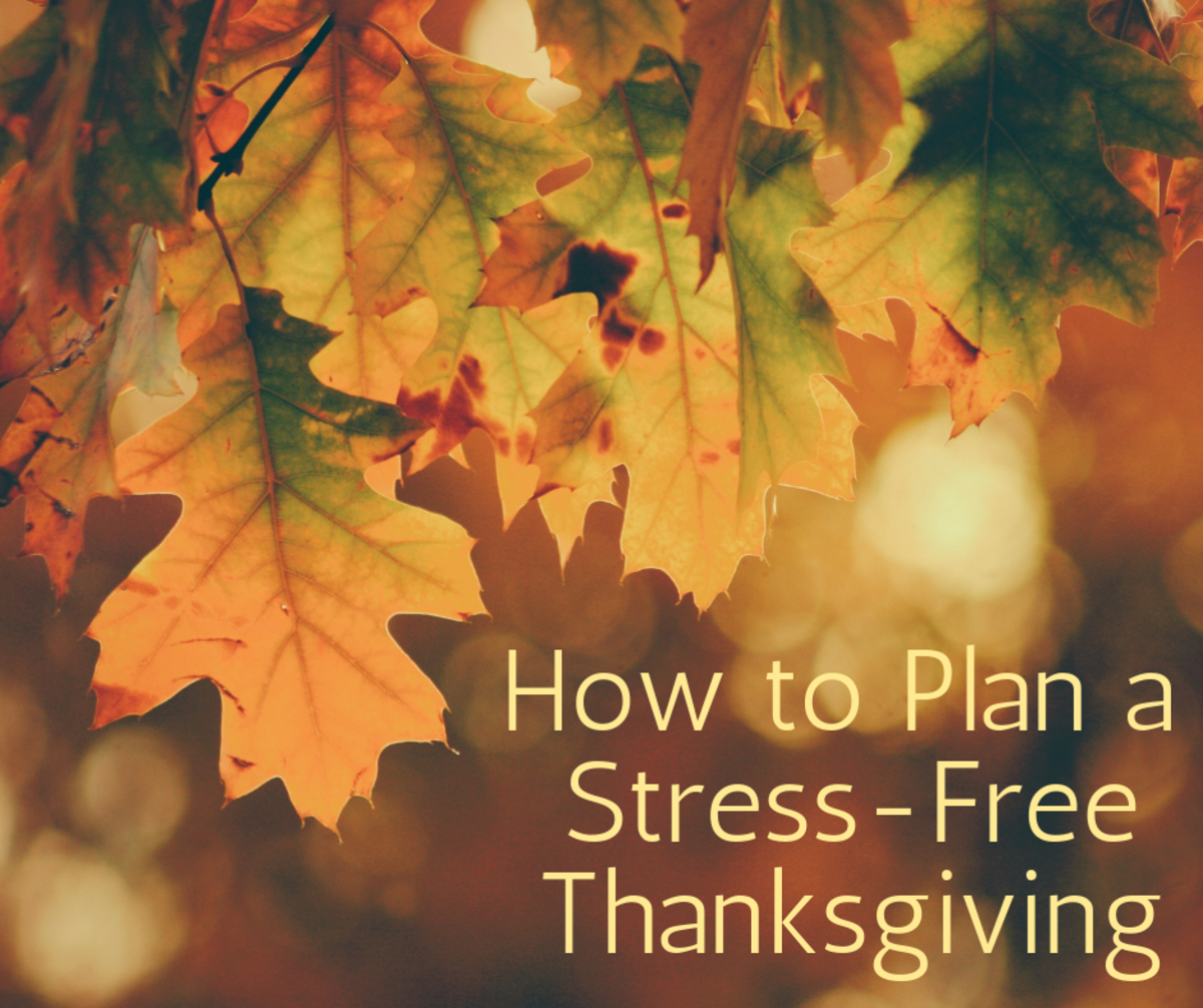 "How to Manage Stress and Plan the ""Perfect"" Thanksgiving"