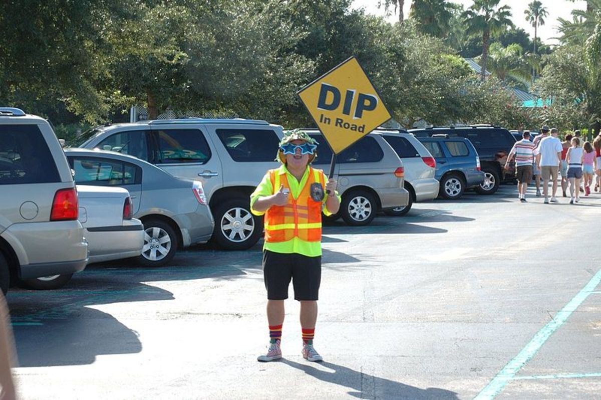 A Face From my Past: Randy, the Parking Attendant