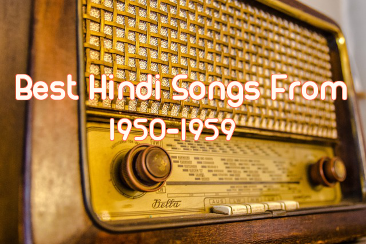 Top 75 Hindi Songs of 1950s Decade