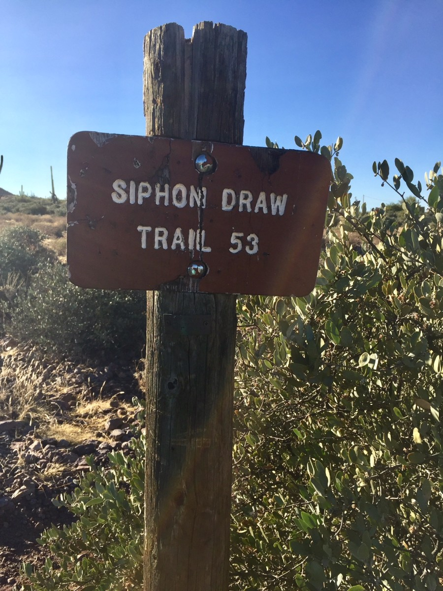 Great Hikes: Siphon Draw Trail, Apache Junction, AZ