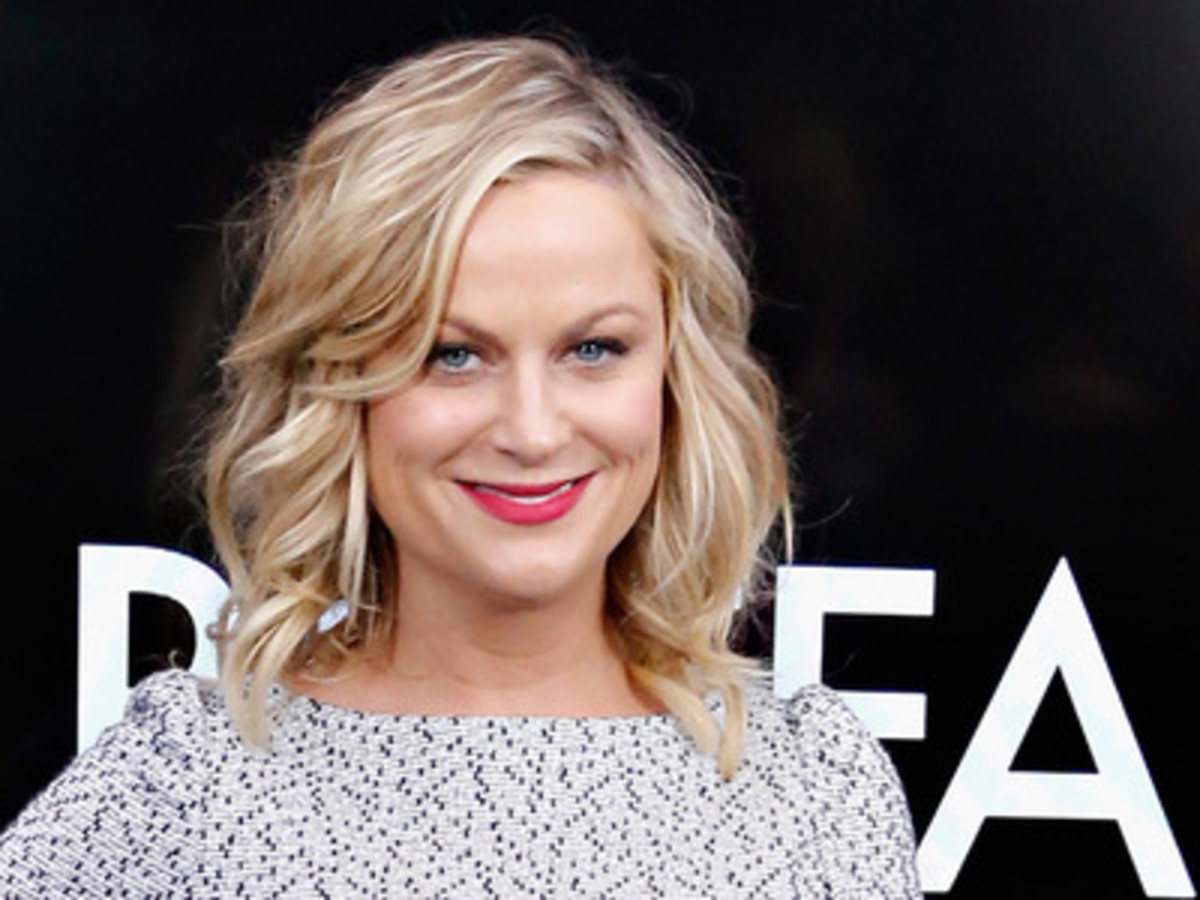"Amy Poehler, one of the founders of improv group ""Upright Citizens' Brigade""."