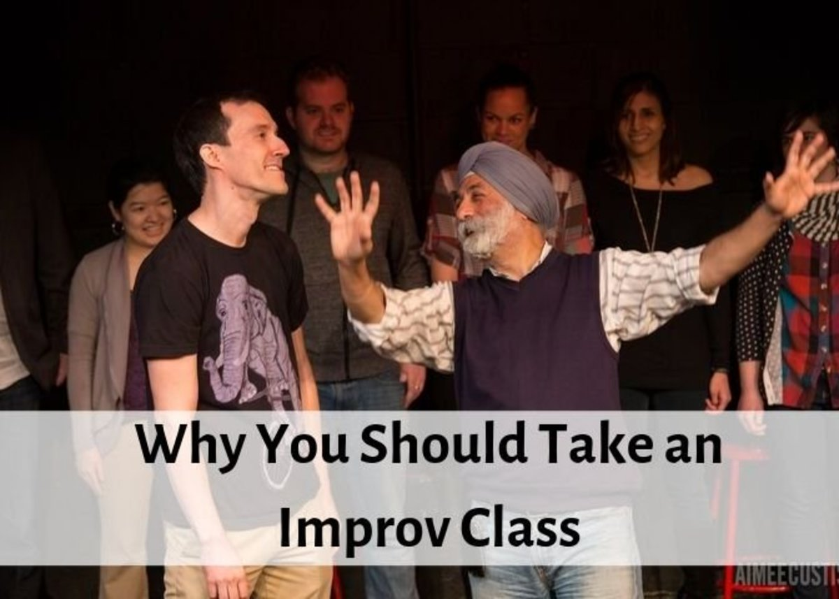 Improv will help you get out of your comfort zone and teach new skills that will help you in your day-to-day life.
