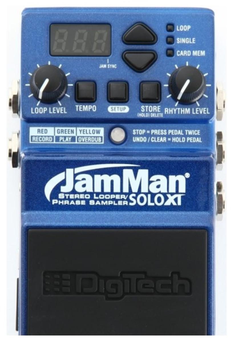 DigiTech JamMan Solo XT Phrase Sampler/Looper Pedal Review