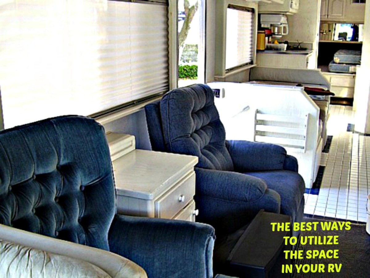 How to make the best use of the space you have in your RV.