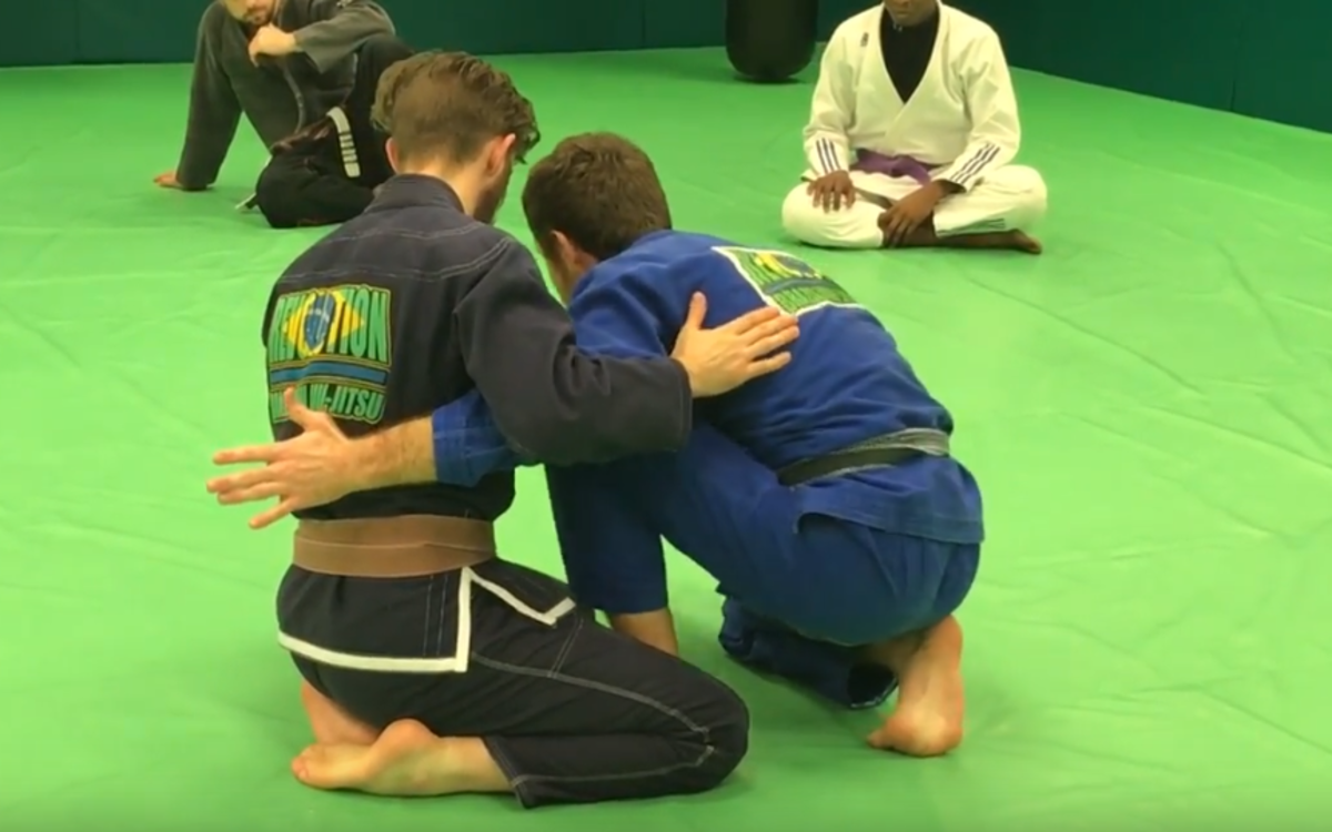 The Easiest BJJ Sweep