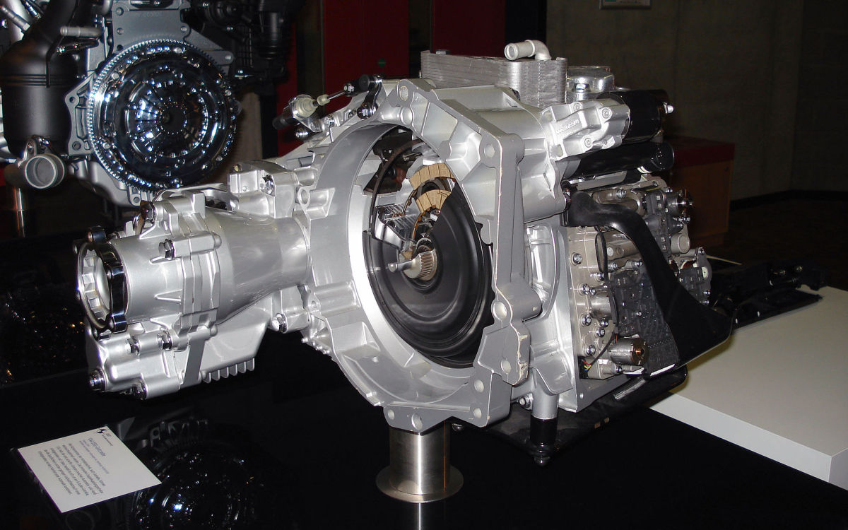 The DSG transmission comes in a number of different variants.