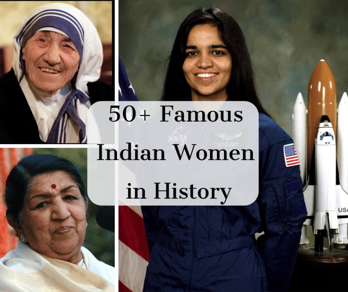 Here's a comprehensive list of the greatest women from Indian history.