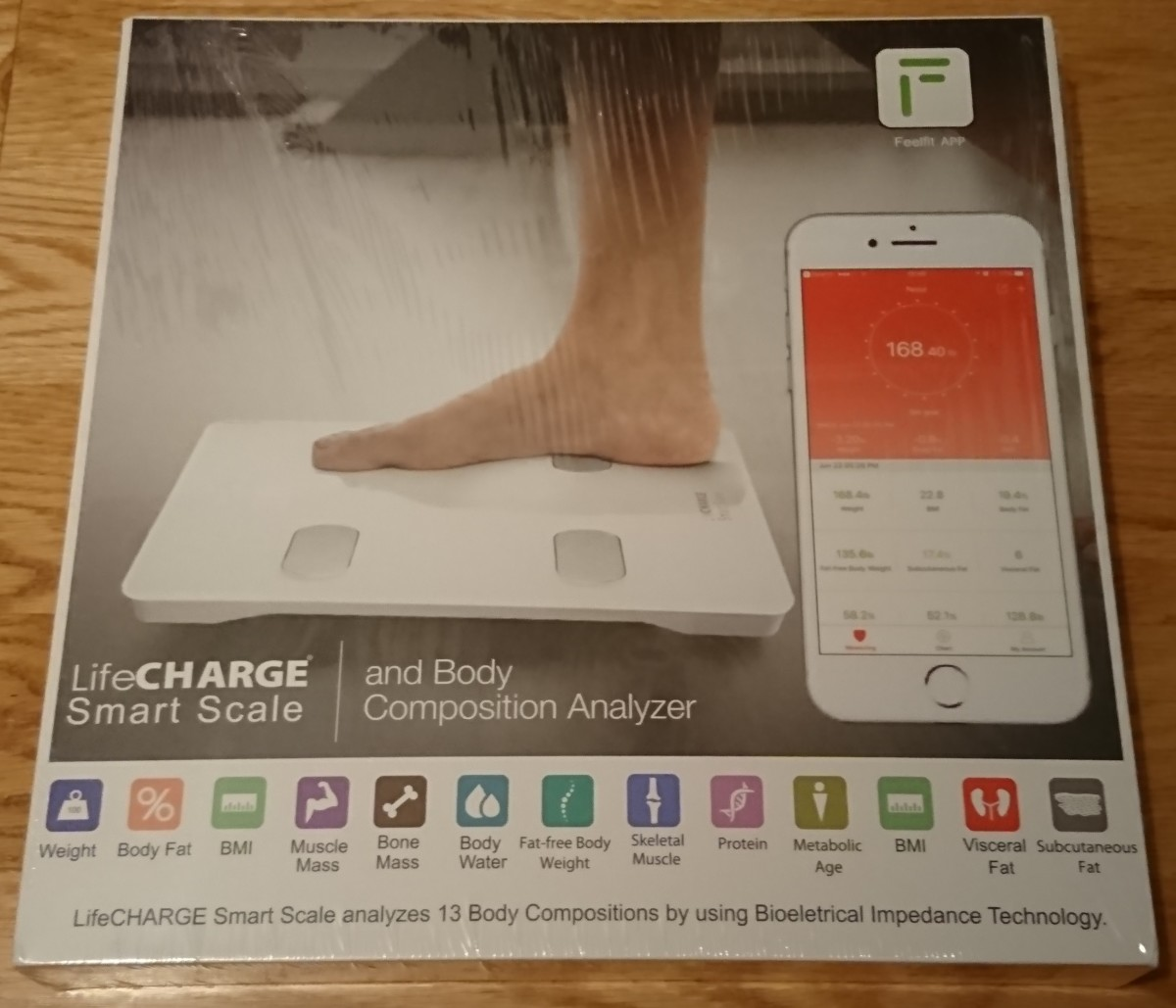 LifeCHARGE Smart Scale and Body Composition Analyzer Review