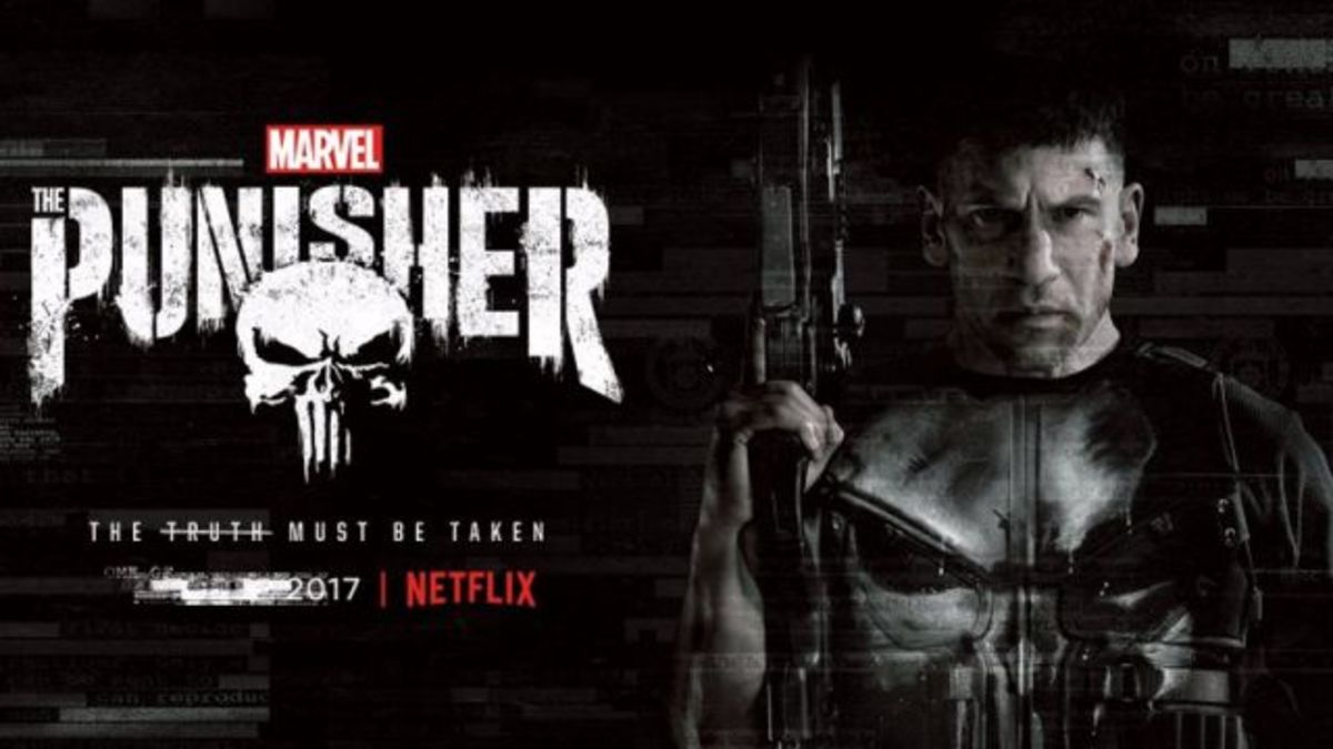Marvel's The Punisher; streaming now on Netflix.