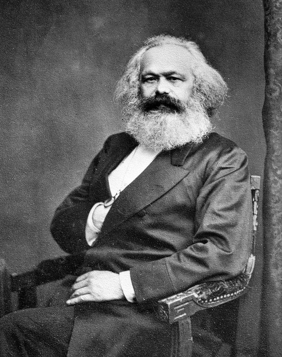 Famous Karl Marx portrait.