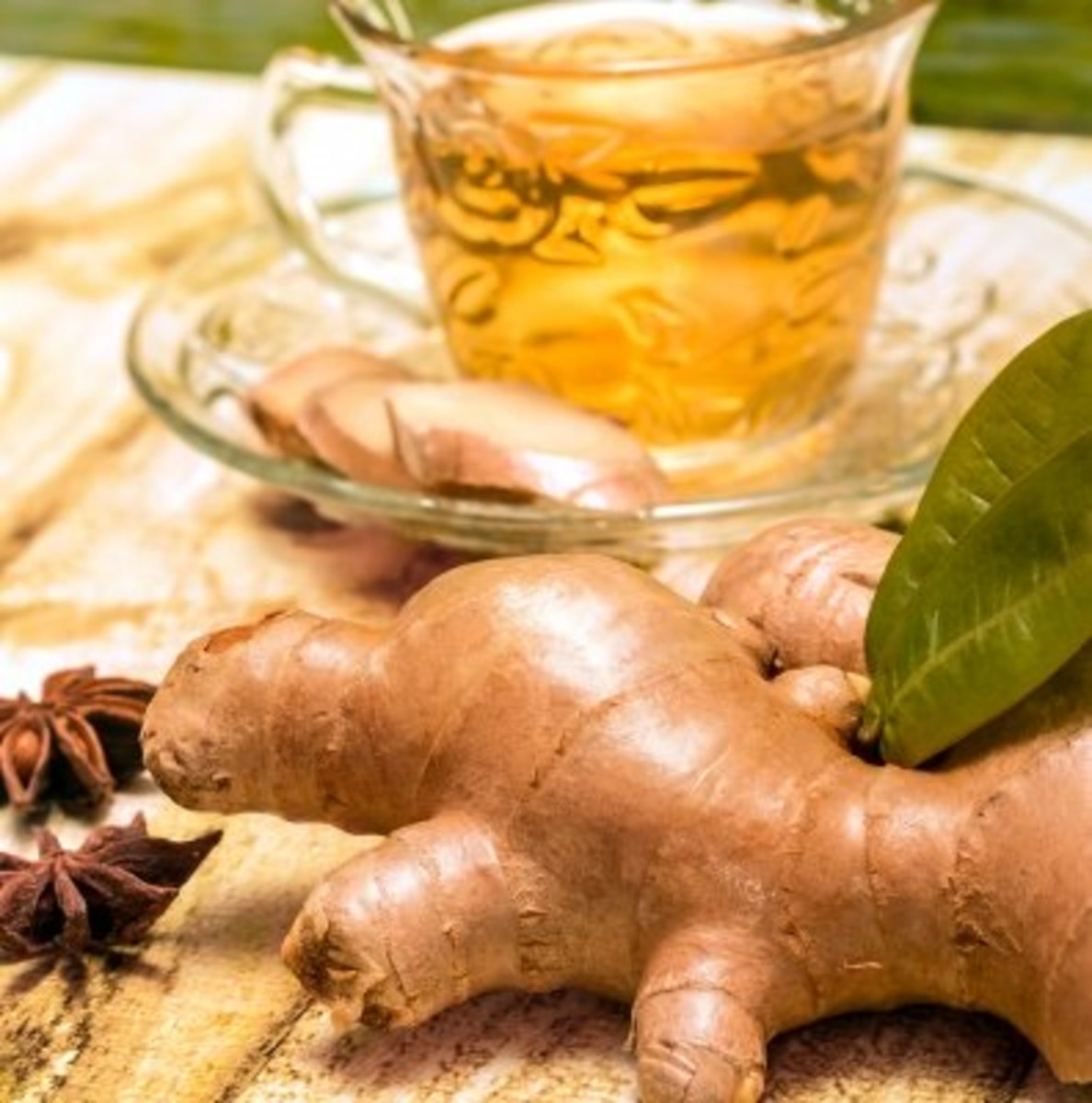Ginger is excellent for Acid Reflux