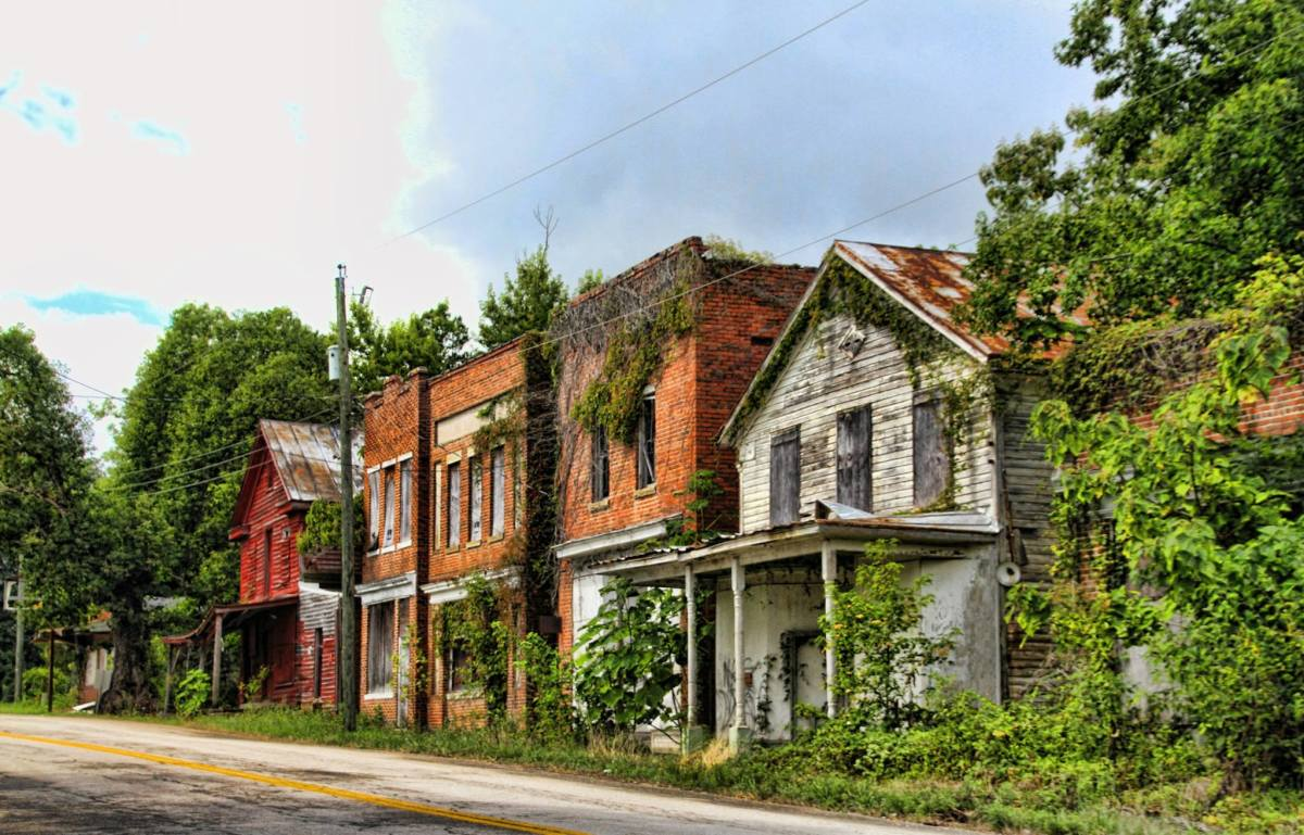 The ghost town of Union Level, Virginia