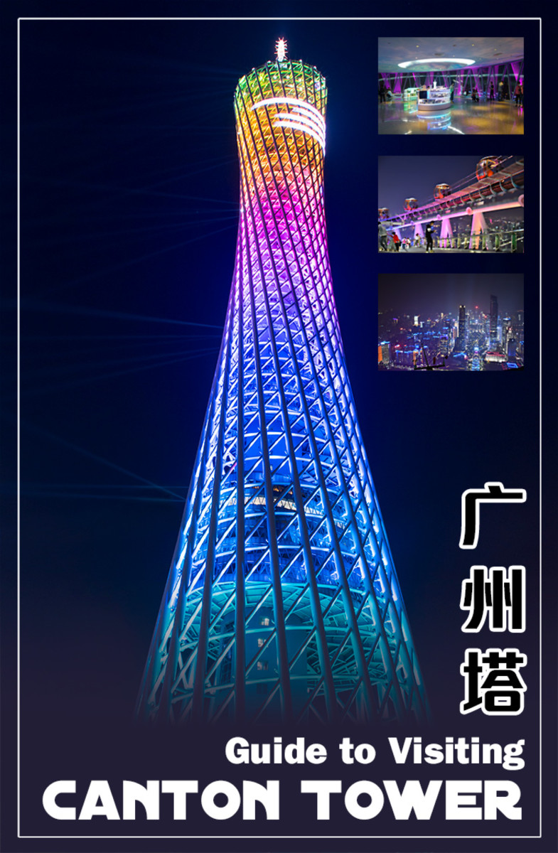 Canton Tower in Guangzhou is the tallest tower in China.