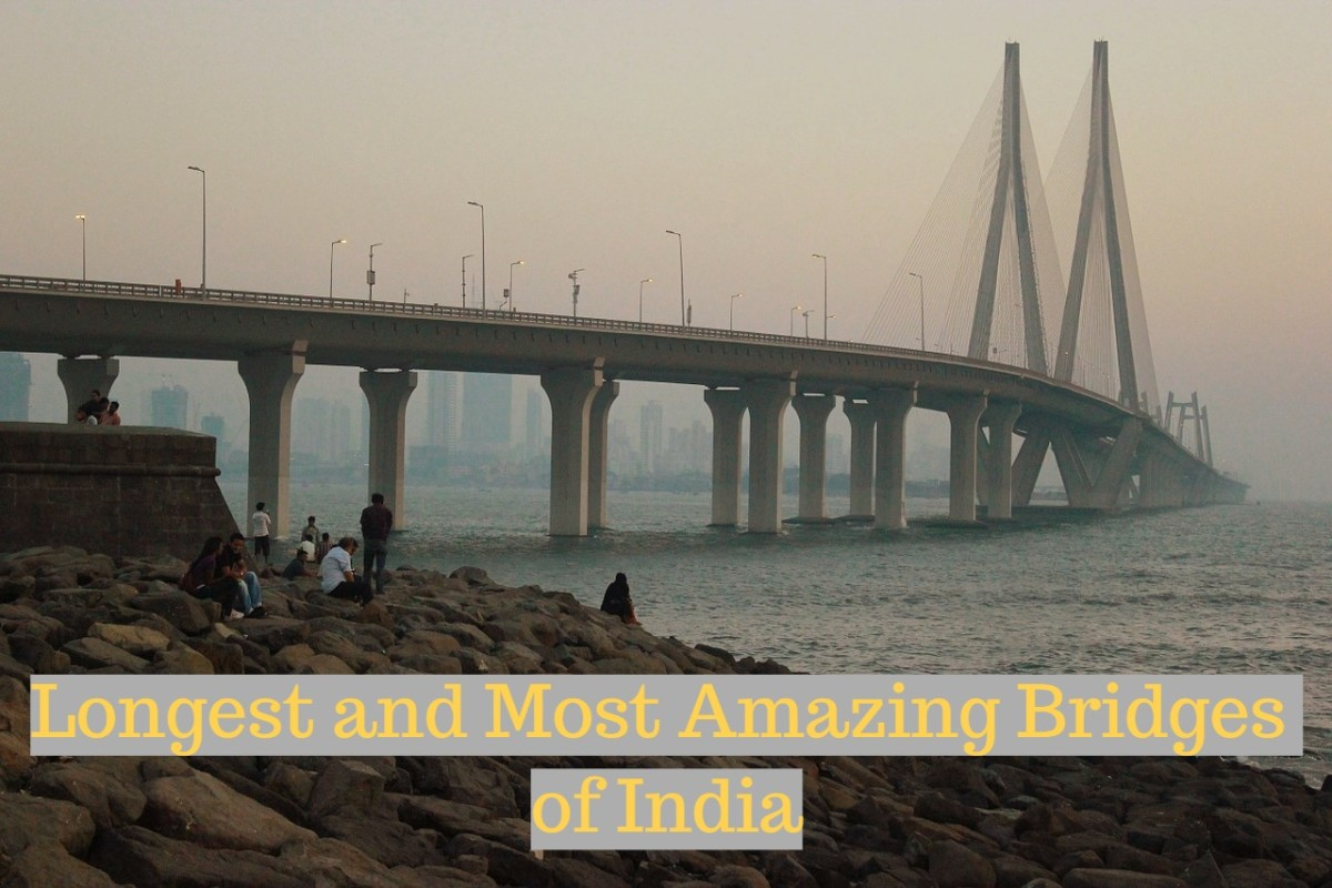 The Bandra-Worli Sealink is the third largest and the most famous among all.