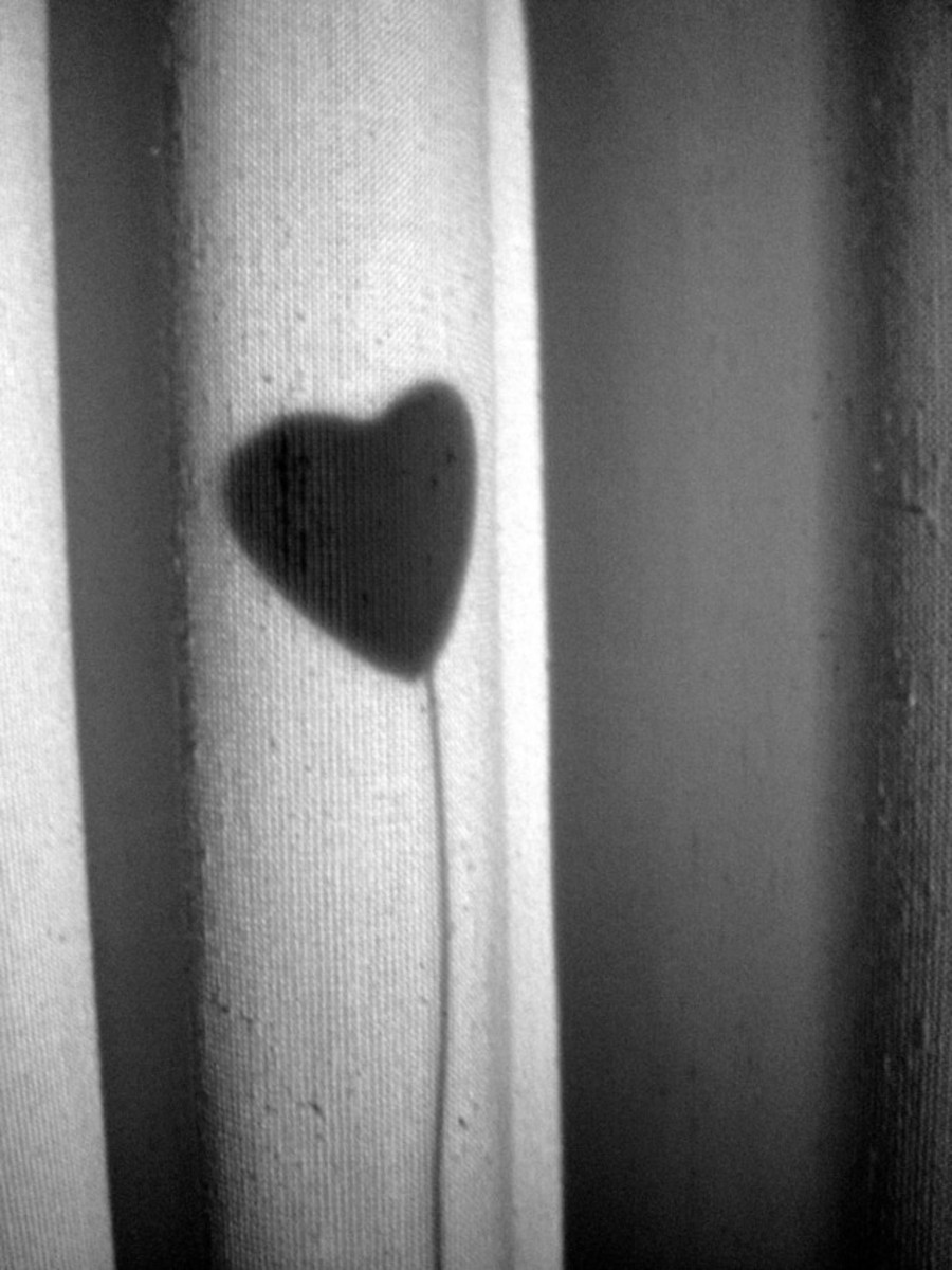 monochrome-heart