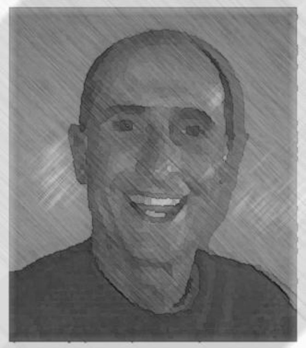 Self portrain of Graham Farrel