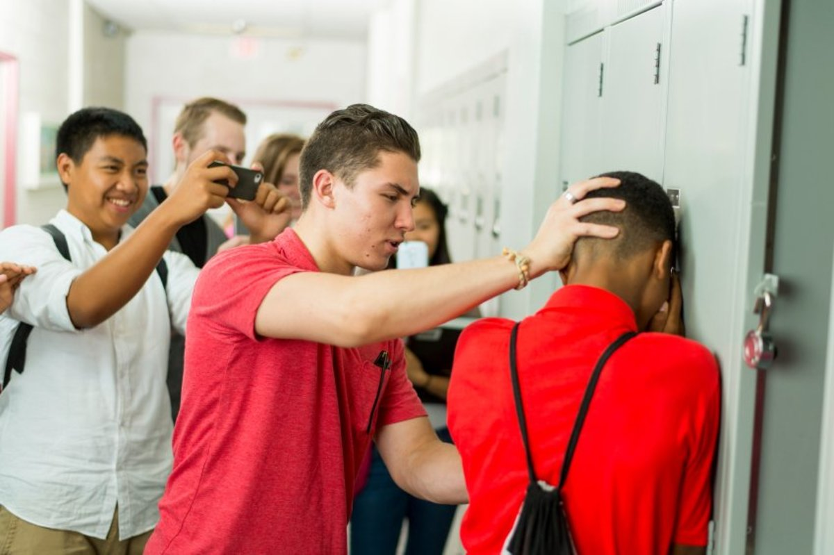 If you see this kind of interaction between kids at school, SPEAK UP! This kind of behavior should not be tolerated