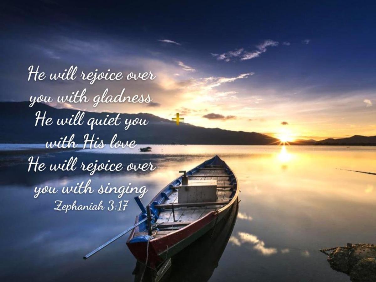 God Rejoices Over You