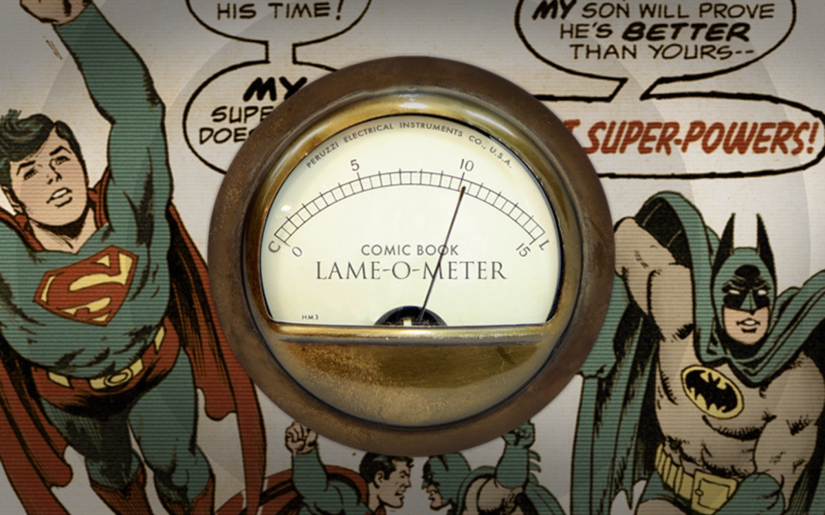 "The ""lame-o-meter"" is going to red"