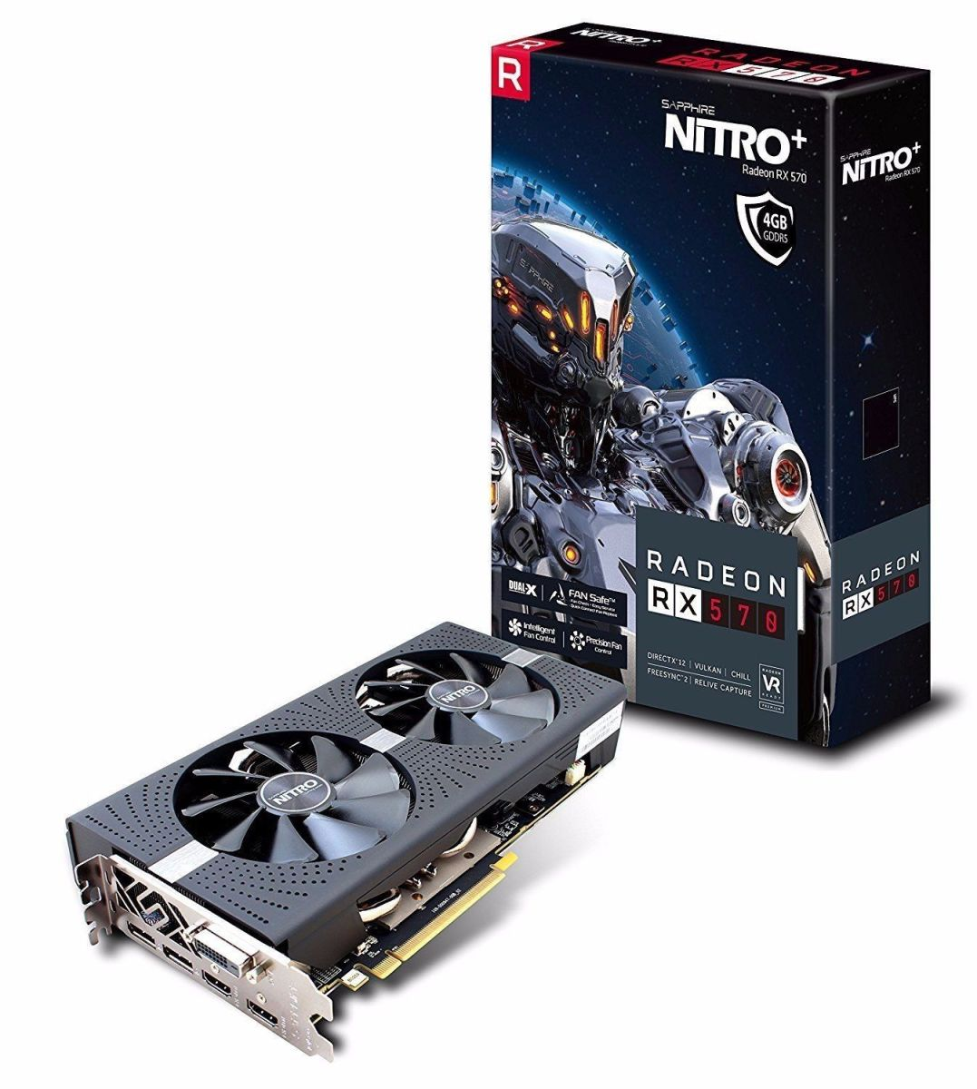 Sapphire NITRO+ Radeon RX 570 4GB Graphics Card Review and Benchmarks