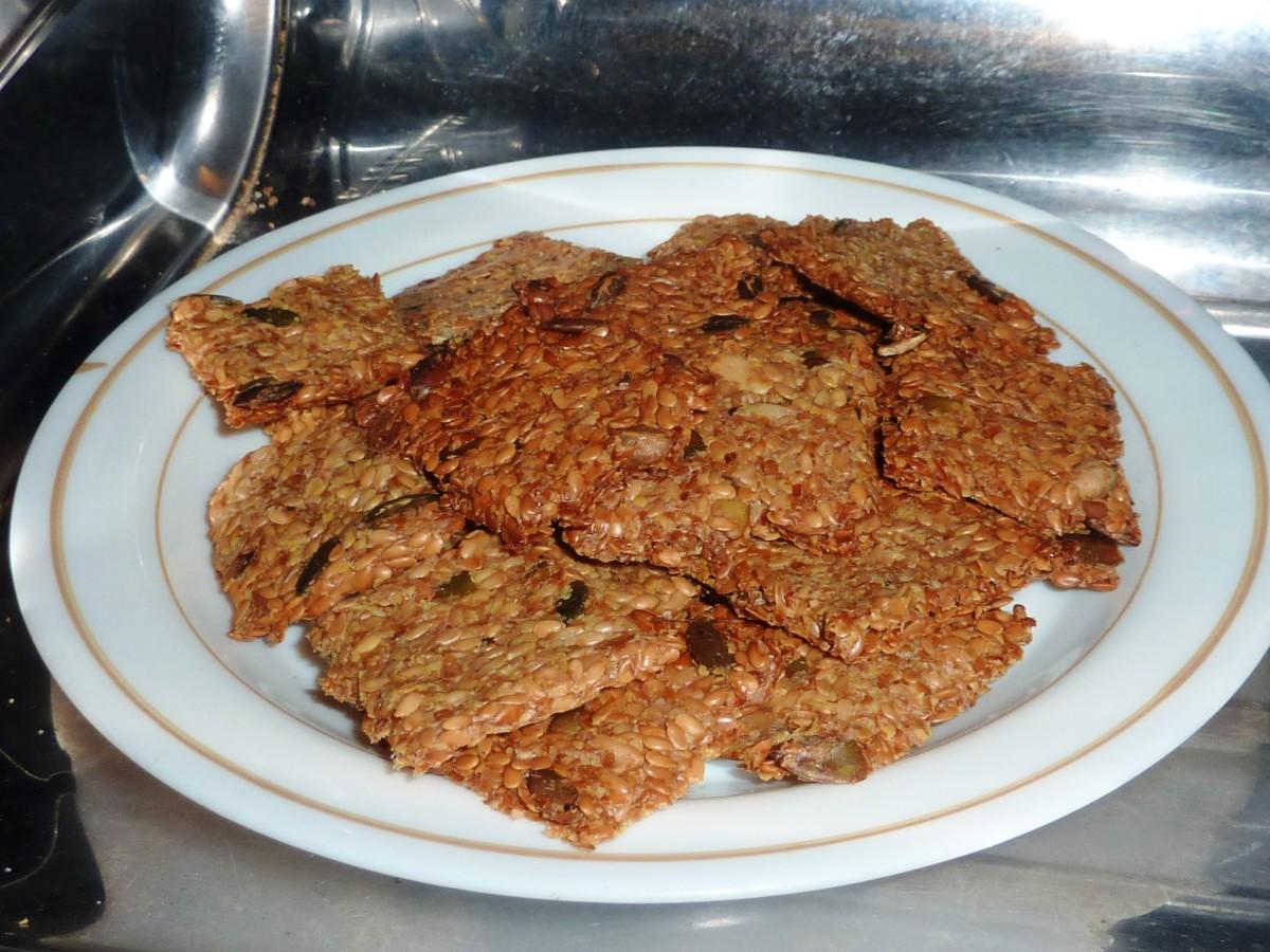 How to Make Linseed, Fenugreek, Pumpkin Seed Keto Crackers