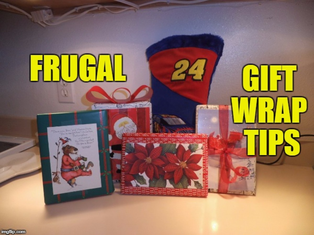 Frugal Gift Wrapping Tips