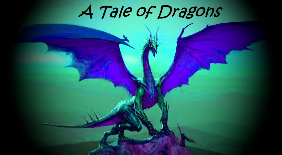 Once upon a time, dragons lived on earth...