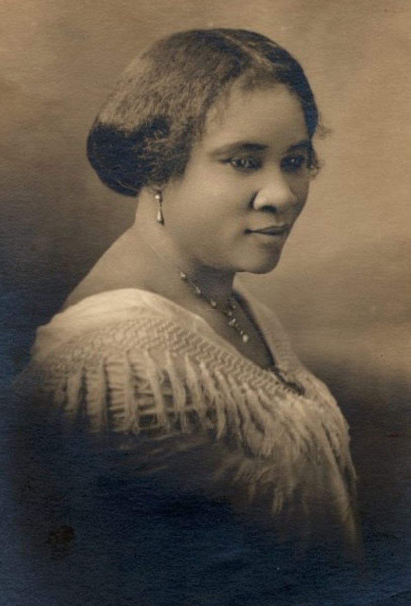 Madam C.J. Walker – First Female Self-Made Millionaire